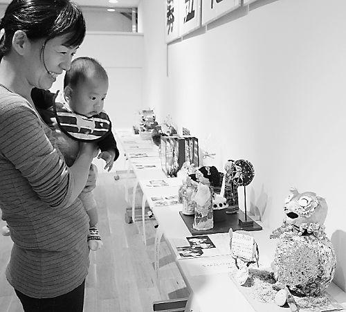 かわいい募金箱42作品 高松で「赤い羽根」入賞展