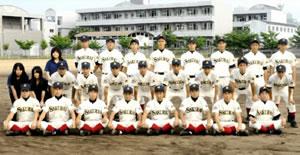 四国新聞記事_高松桜井野球部員
