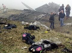 トルコ北東部で旅客機墜落/スペイン兵ら74人死亡か