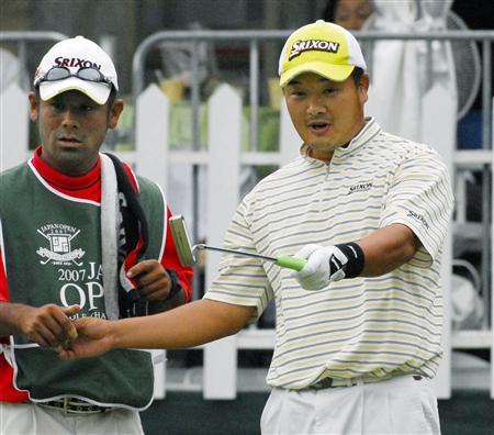 小田が首位浮上、片山2位/日本オープンゴルフ第3日