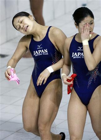 高飛び込み 女子 日本
