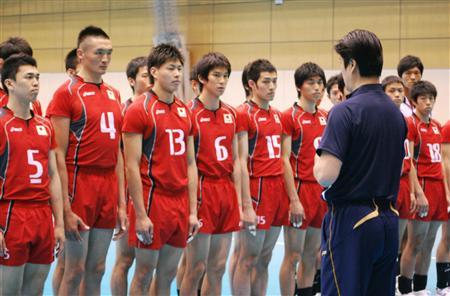 男子 バレー 日本 代表 メンバー