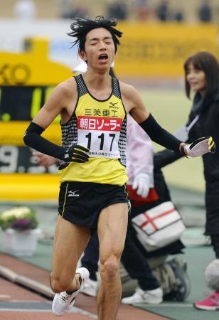 別大毎日、初マラソンの松村4位/ジョロゲがV   2時間11分18秒で ...