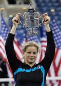 女子テニス元1位全米で有終/キム・クライシュテルス