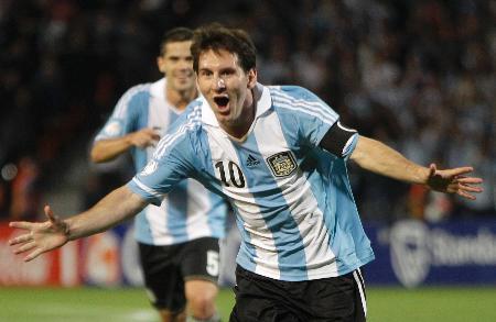 サッカー、アルゼンチンは快勝/W杯南米予選