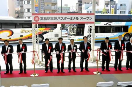 【印刷用】新たな交通拠点に/高松駅高速バスターミナル完成 ...