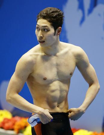 萩野 公介 世界 水泳
