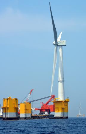 の 風力 最大 世界 洋上