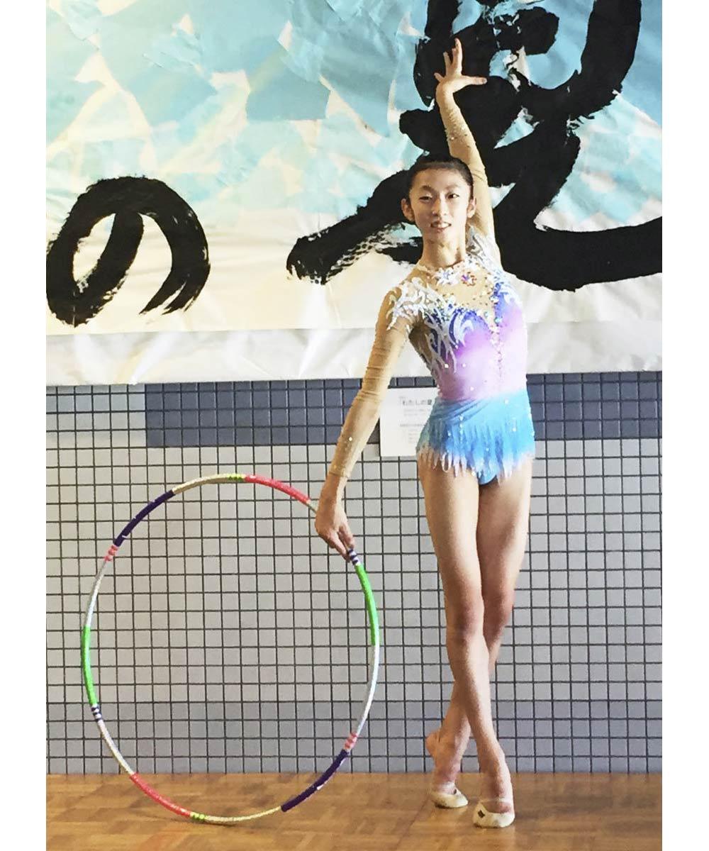 2017全国中学校体育大会第7日/新体操 林(坂出東部)3位 女子個人総合