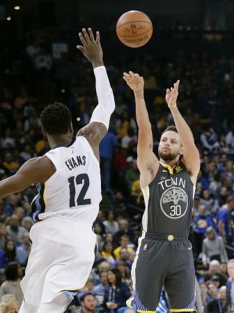 NBA、ウォリアーズが首位独走/西・太平洋地区、第11週終了