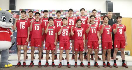 バレー 男子 日本 代表 メンバー