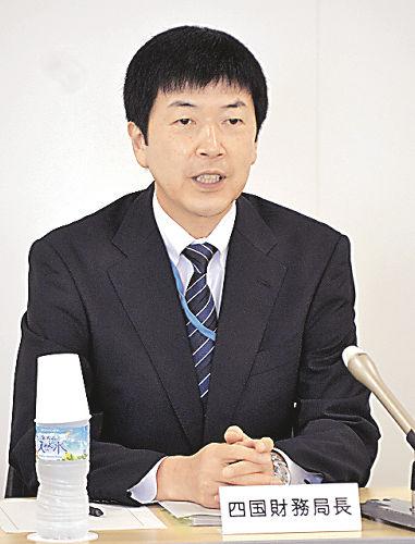 地域、国の橋渡し役に」 四国財務局 木勢局長が着任会見 | BUSINESS LIVE