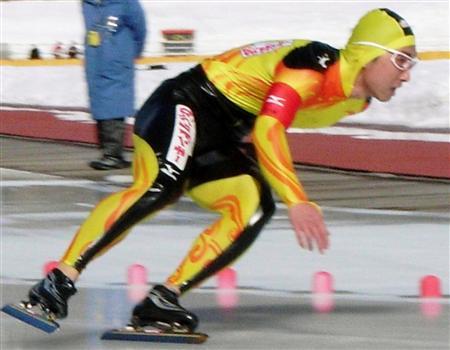 印刷用】スケート男子500は及川が優勝/社会人対抗スピード第1日 ...