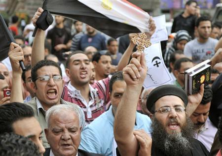 カイロで2宗教合同デモ/「革命は宗教対立と無縁」 | 全国ニュース ...