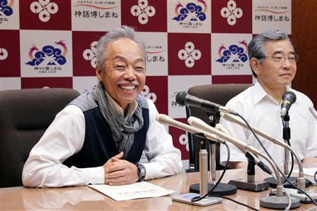 谷村さんがイベント公式曲制作/島根、古事記編さん記念   記者会見を ...