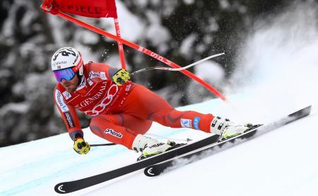 スキー、ヤンスルードが種目別V/W杯男子スーパー大回転   アルペン ...